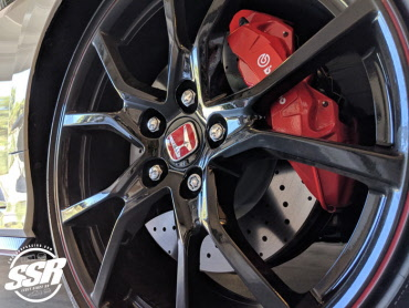 Genuine Honda Black Locking Wheel Nuts