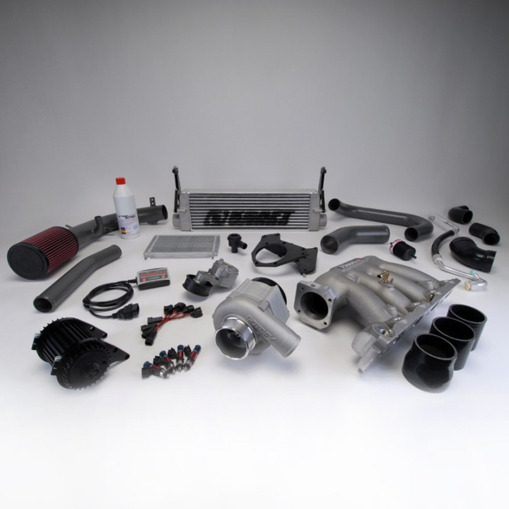 Honda S2000 Supercharger Reliability: Kraftwerks 06-11 Civic Si Supercharger System W/o Tuning