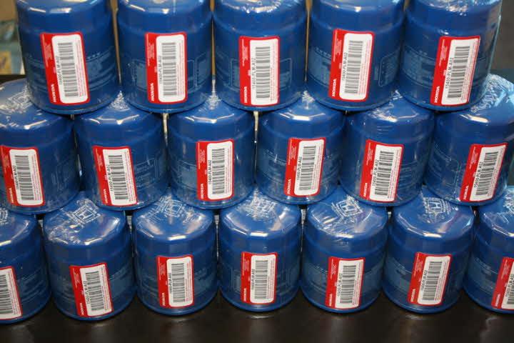 Honda Oem Oil Filter W   Free Crush Washer 15400