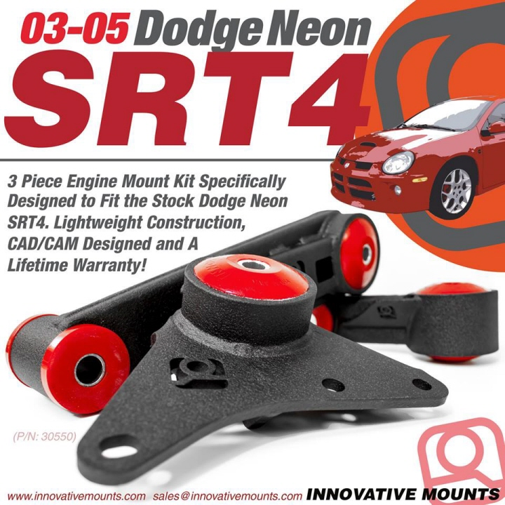 Innovative Mounts 03-05 Dodge Neon SRT-4 Replacement Mount