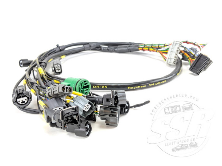 Mil-Spec D & B-Series Tucked Engine Wiring harness on