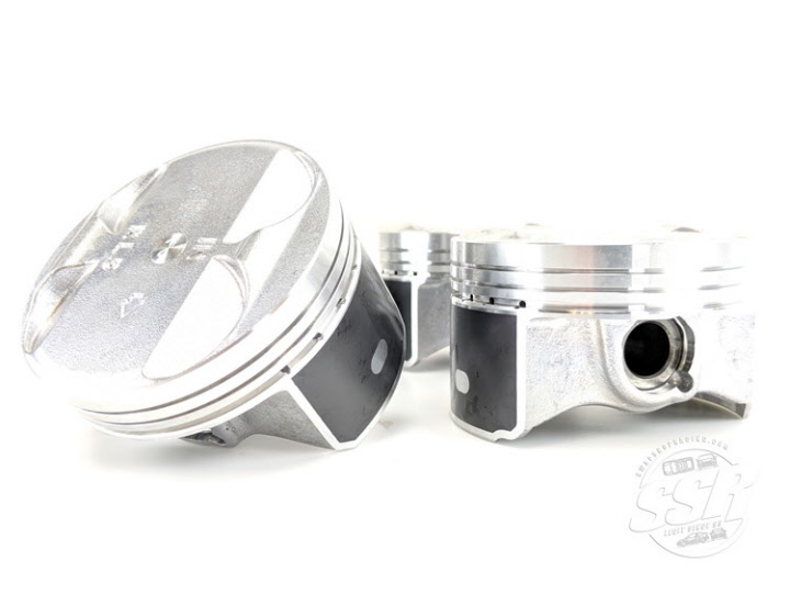 JDM Nippon Racing TSX RL5 K-Series Piston and NPR Ring Set K24Z3 K24A2 K24A
