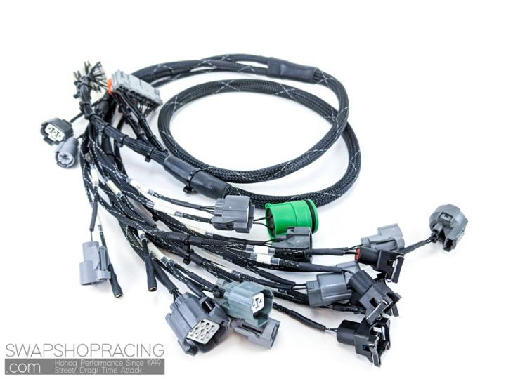 obd1 budget d & b-series tucked engine harness  swap shop racing