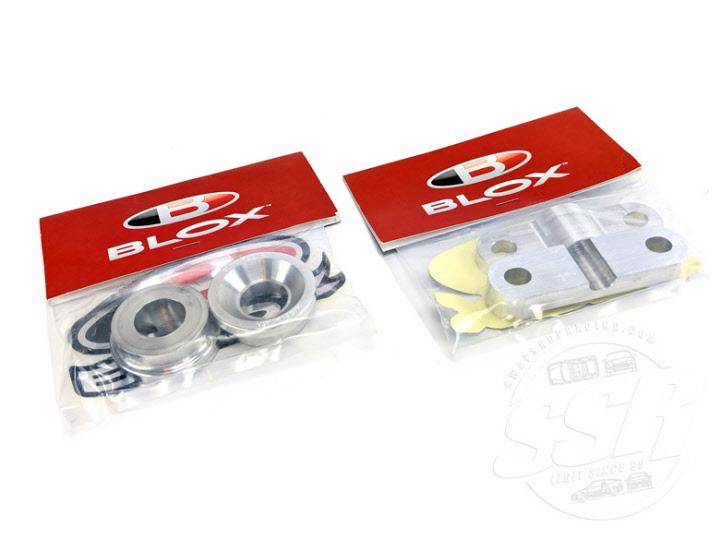 Blox Solid 2 Piece Shifter Bushing and Energy B Series Bushing Combo B16 B18