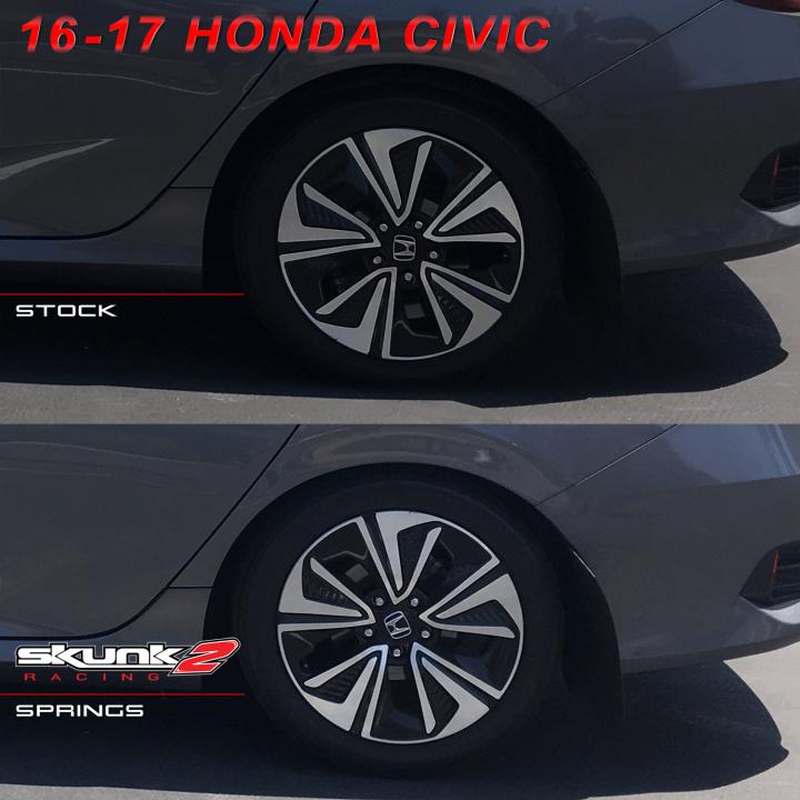Skunk2 519-05-1480 Lowering Spring for Honda Civic//del Sol