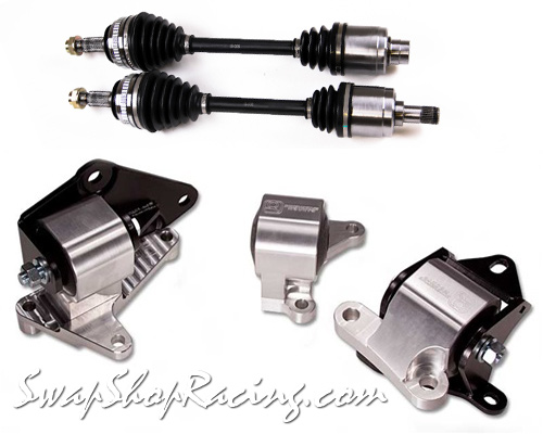 l_ek hpk2 innovative h series billet mount kit & insane shafts swap axles ek h22 wiring harness at bayanpartner.co