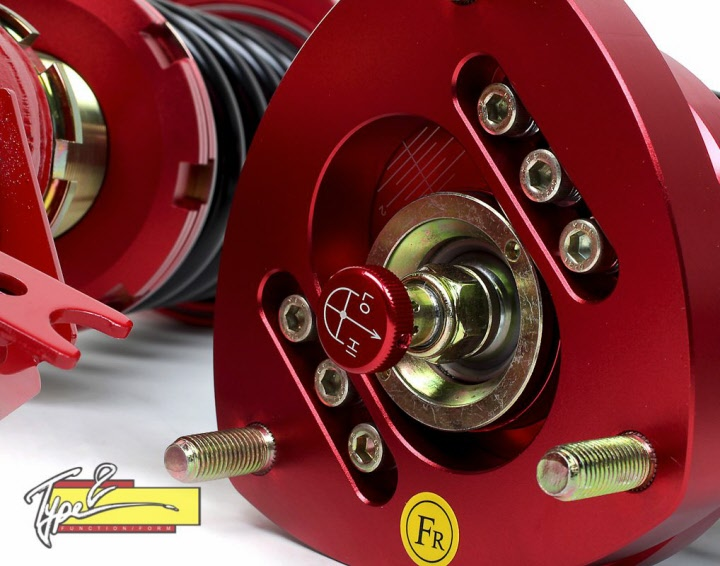 Function Form Type2 Adjustable Full Coilovers 02 05 Civic