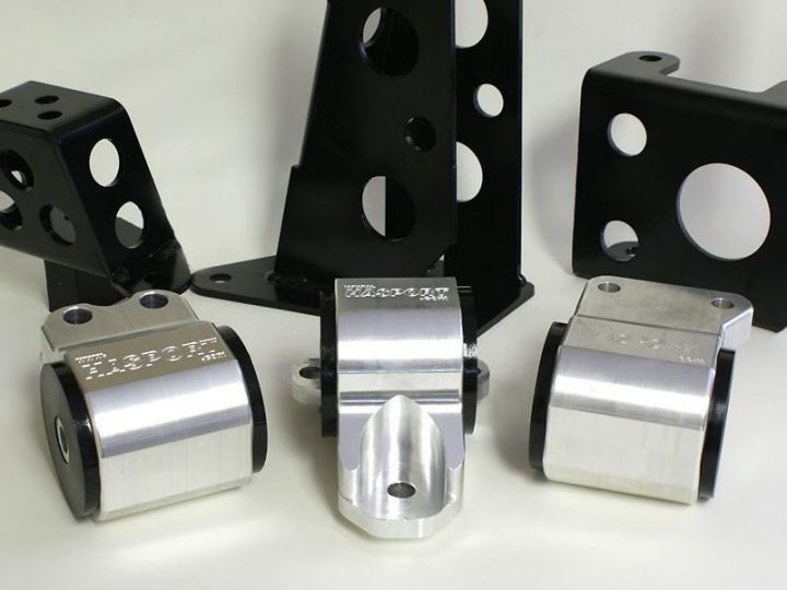Hasport Engine Mounts 92-95 Honda Civic Del Sol D and B-Series EGSTK 70A 2-Bolt