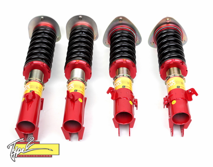 Function Form Type2 Adjustable Full Coilovers Impreza Wrx