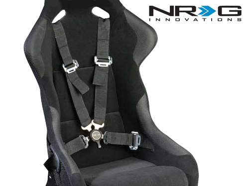 Nrg Seat on 3 Point Seat Belt Harness Racing