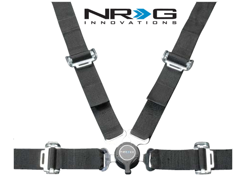 Nrg 4 Point 2 Inch Seat Belt Harness With Cam Lock Sbh 4pc
