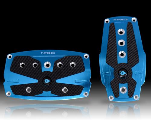 Part # PDL-250MC Black Rubber Inserts MT Neochrome Aluminum NRG Sport Pedals 2 Piece