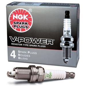 NGK V-Power Spark Plugs (4) for B18C, B18C5, B18C1, B16A VTEC Motors